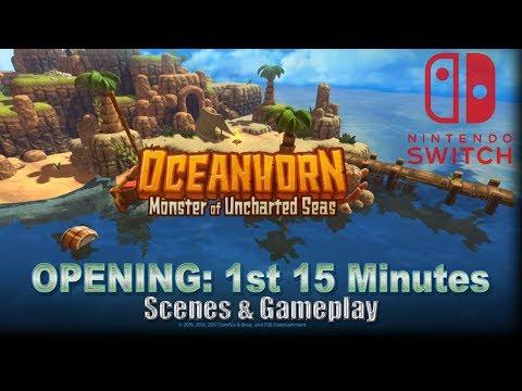 Oceanhorn: Monster Of Uncharted Seas - Most Zeldalike Nintendo Switch Game - OPENING: 1st 15 Minutes