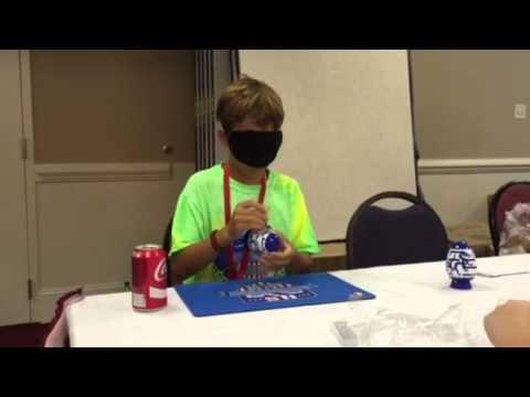 Blue Dragon Smart Egg Solving - Blindfolded