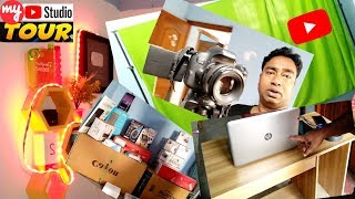 My Youtube Studio/Setup Tour | Behind the Scenes | Youtube Gears My Smart Support
