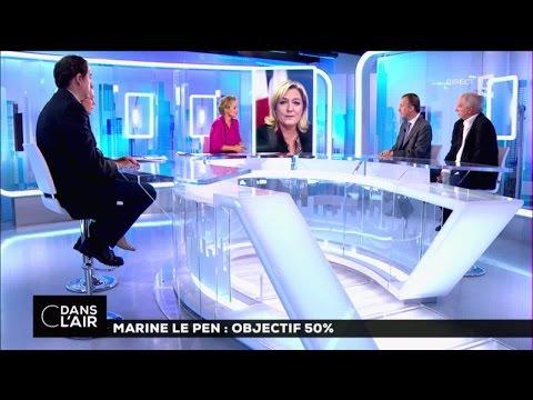 Marine Le Pen : objectif 50% #cdanslair 19-09-2016