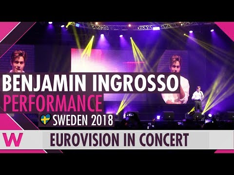 "Benjamin Ingrosso ""Dance You Off"" (Sweden 2018) LIVE @ Eurovision in Concert 2018"
