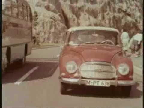 Historischer Werbefilm von DKW/ Auto-Union: Gesamtprogramm