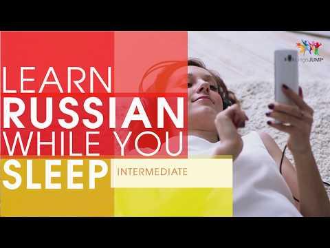 Learn Russian While You Sleep! Intermediate Level! Learn Russian Words & Phrases While Sleeping!