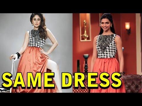 https://i.ytimg.com/vi/AzWUoj0zpCY/hqdefault.jpg Deepika Padukone And Kareena Kapoor Same Dress