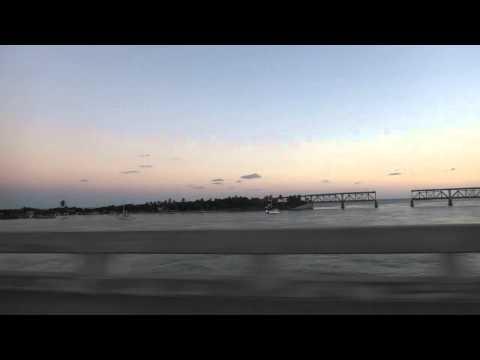 20141029 フロリダキーズ Florida Keys 24:U S Route 1:Oversea Hwy:キーラーゴ Key Largo → キーウェスト Key West