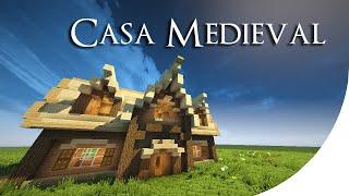 Casa Medieval Minecraft Tutorial 4