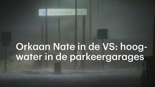 Enorme schade door orkaan Nate in VS  - RTL NIEUWS