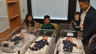 Mom Has Twins and Then Triplets