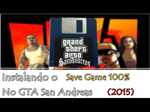Como instalar o Save Game de 100% no GTA San Andreas (2015)