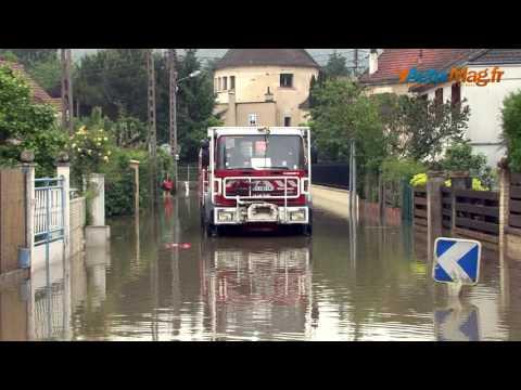 Essonne : Les villes d'Orsay, Bures-sur-Yvette et Gif-sur-Yvette sous les eaux !