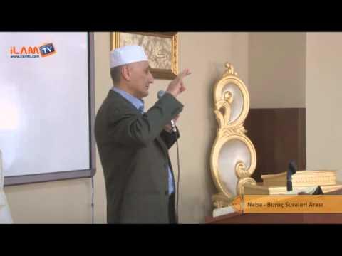 Kuran Dersi 117 - FATİH ÇOLLAK ile KUR'ÂN-I KERİM DERSİ 117 (Nebe-Buruc Sureleri Arası)
