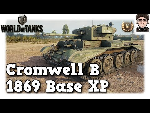 World of Tanks - Cromwell B, 1869 Base XP als Low Tier [deutsch | Replay] thumbnail