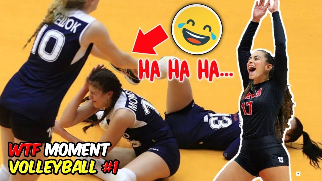 The Funniest Volleyball Moment Here