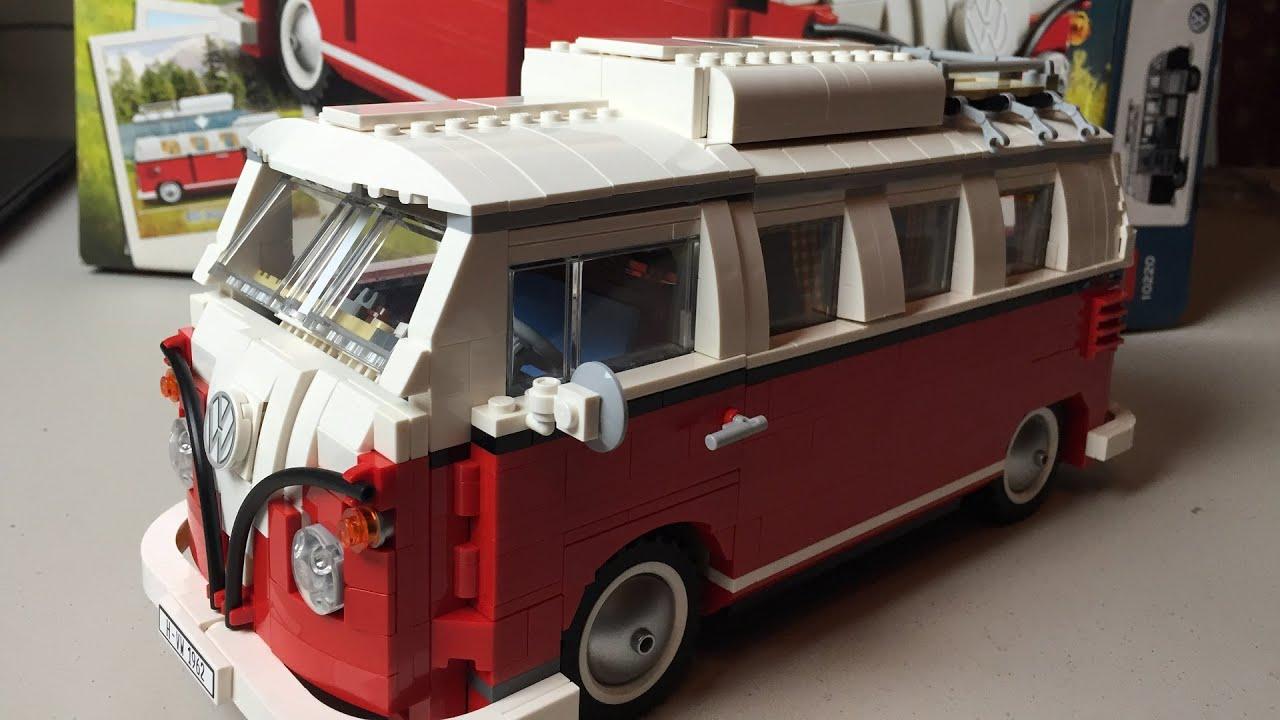 Lego Volkswagen Vw Bus Review Sdbuild