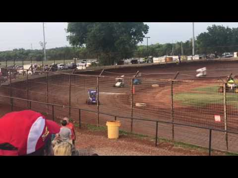Joshua Gentry Feature Win I-44 Speedway 6-17-17