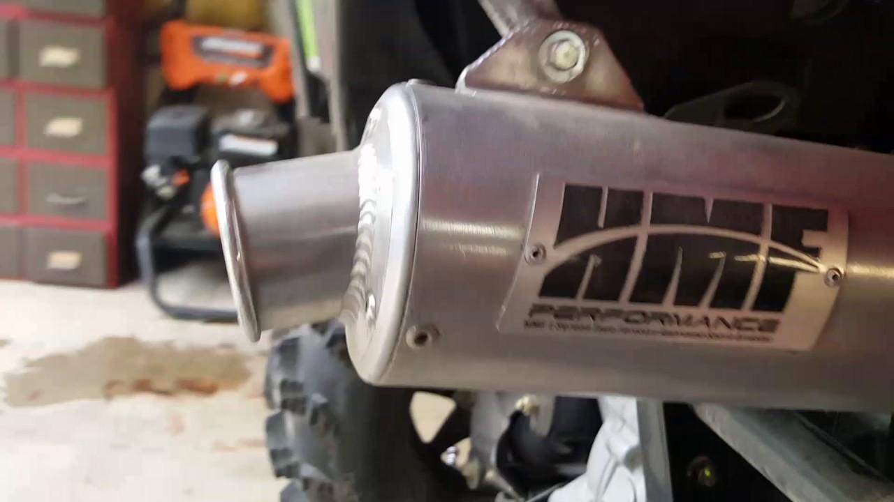 2016 Polaris Sportsman 570 Exhaust Mod