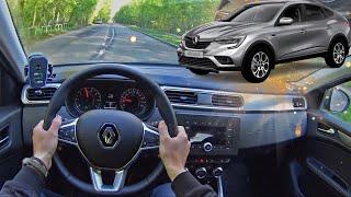 2021 Renault Arkana | Езда от первого лица | POV Test Drive #17