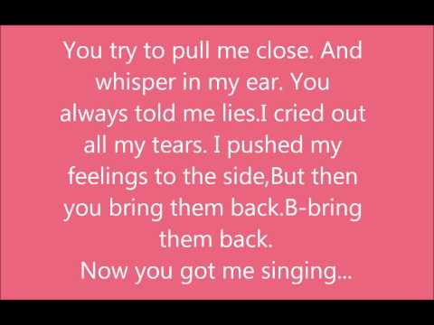 Selena Gomez - Round and Round lyrics