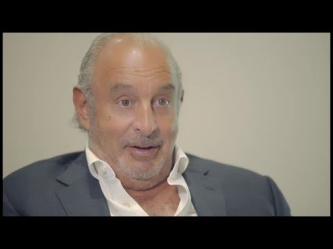 Interview with Sir Philip Green, Chairman of the Arcadia Group