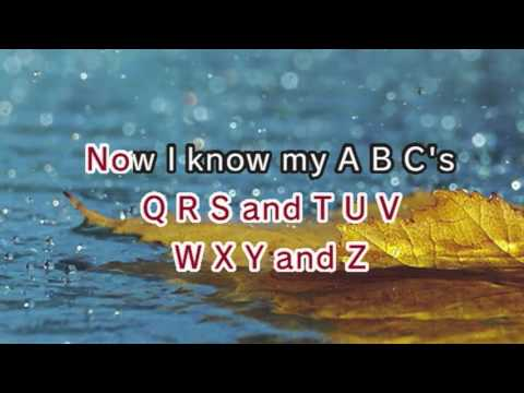 Alphabet Song (ABC Song) (Karaoke and Lyrics Version)