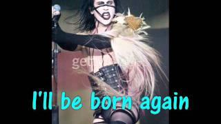 Born Again - Marilyn Manson [Lyrics, Video w/ pic.