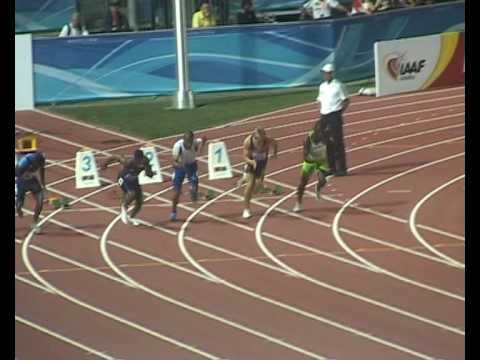 100m world champion Dexter Lee 10.21 vs Jimmy Vica...