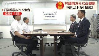 韓国へ規制強化に9割超「賛成」 経産省意見公募で(19/07/23)