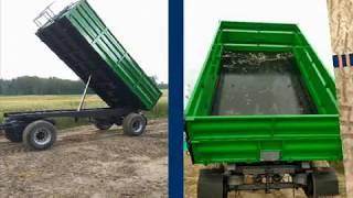 Remont przyczepy 12 ton Przeróbka na wywrotkę