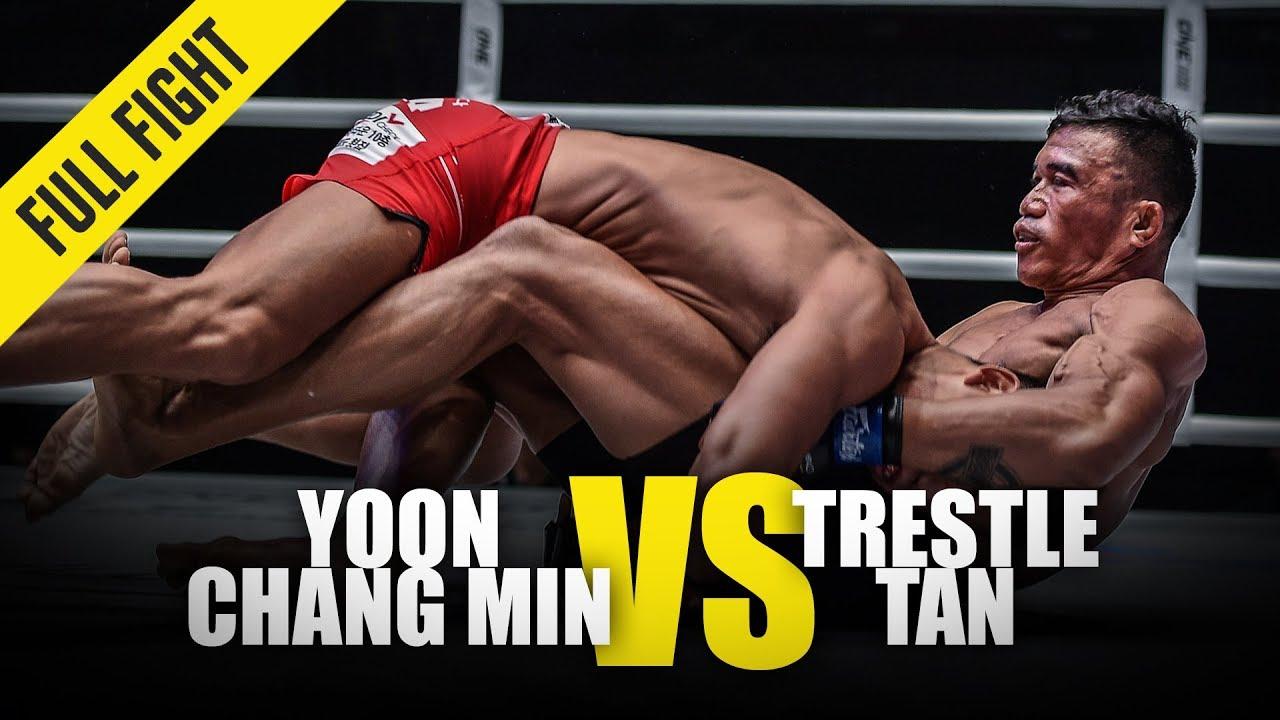 Yoon Chang Min vs. Trestle Tan   ONE Full Fight   June 2019