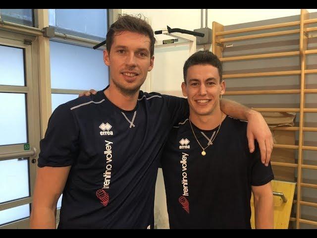 Grebennikov e Van Garderen già a Trento: