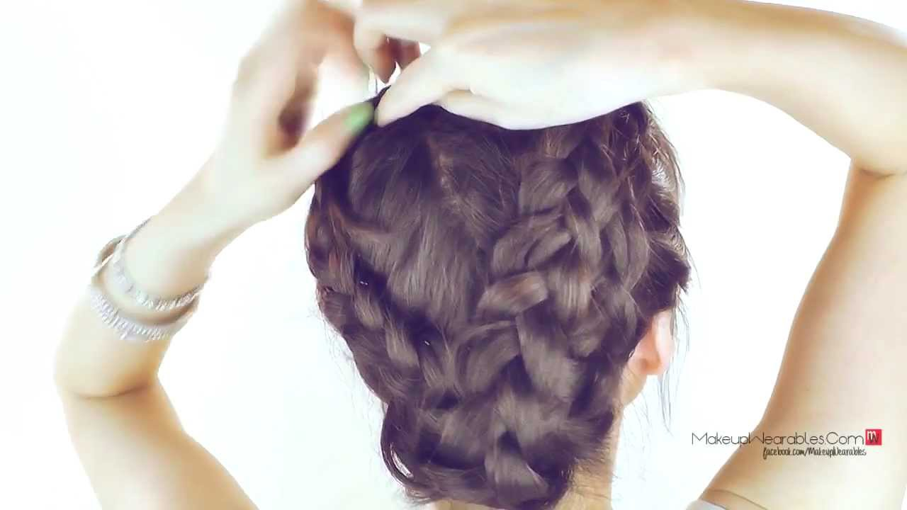 ☆ HAIR TUTORIAL | MERMAID MILKMAID BRAID UPDOS | CUTE HAIRSTYLES FOR SCHOOL  | FOR MEDIUM LONG HAIR   YouTube