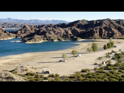 Lake Mohave Telephone Cove, Nevada RV Camping Picture Tour