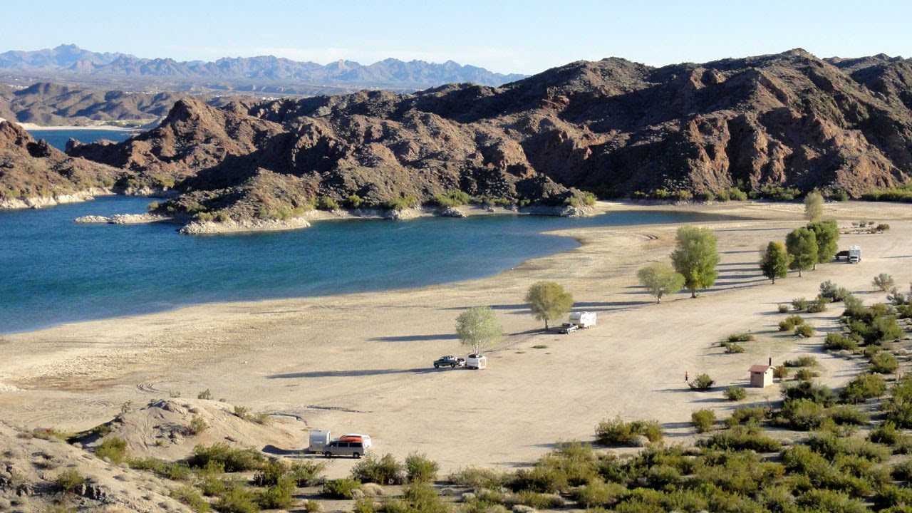 Nevada Telephone Cove Lake Mohave Rv Camping Youtube