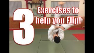 3 exercises to develop your ukemi (breakfalling) - how to Flip!