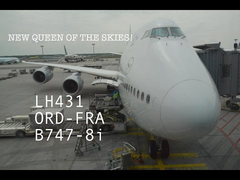 #41: LUFTHANSA LH431 | FLIGHT REPORT & REVIEW | Boeing 747-8i | Chicago O'Hare to Frankfurt