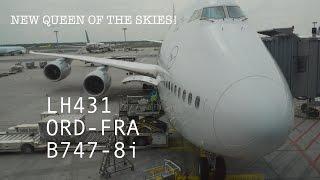 #41: LUFTHANSA LH431 | FLIGHT REPORT & REVIEW | Boeing 747-8i | Chicago O