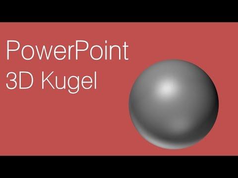 PowerPoint – 3D Kugel