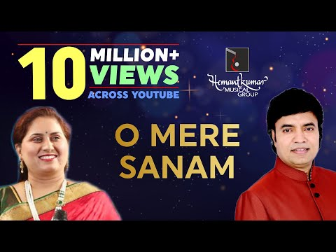 O mere sanam bollywood song by Mukhtar Shah & Gauri KaviLive Music Show Hemantkumar Musical Group