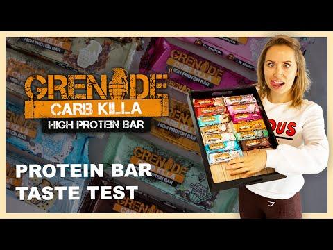 GRENADE CARB KILLA | Protein Bar Taste Test & Review
