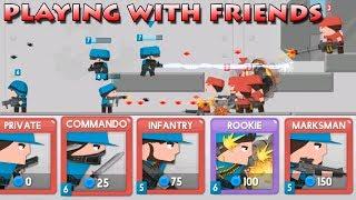 Clone Armies Игра с друзьями! Армия клонов! игры на андроид!