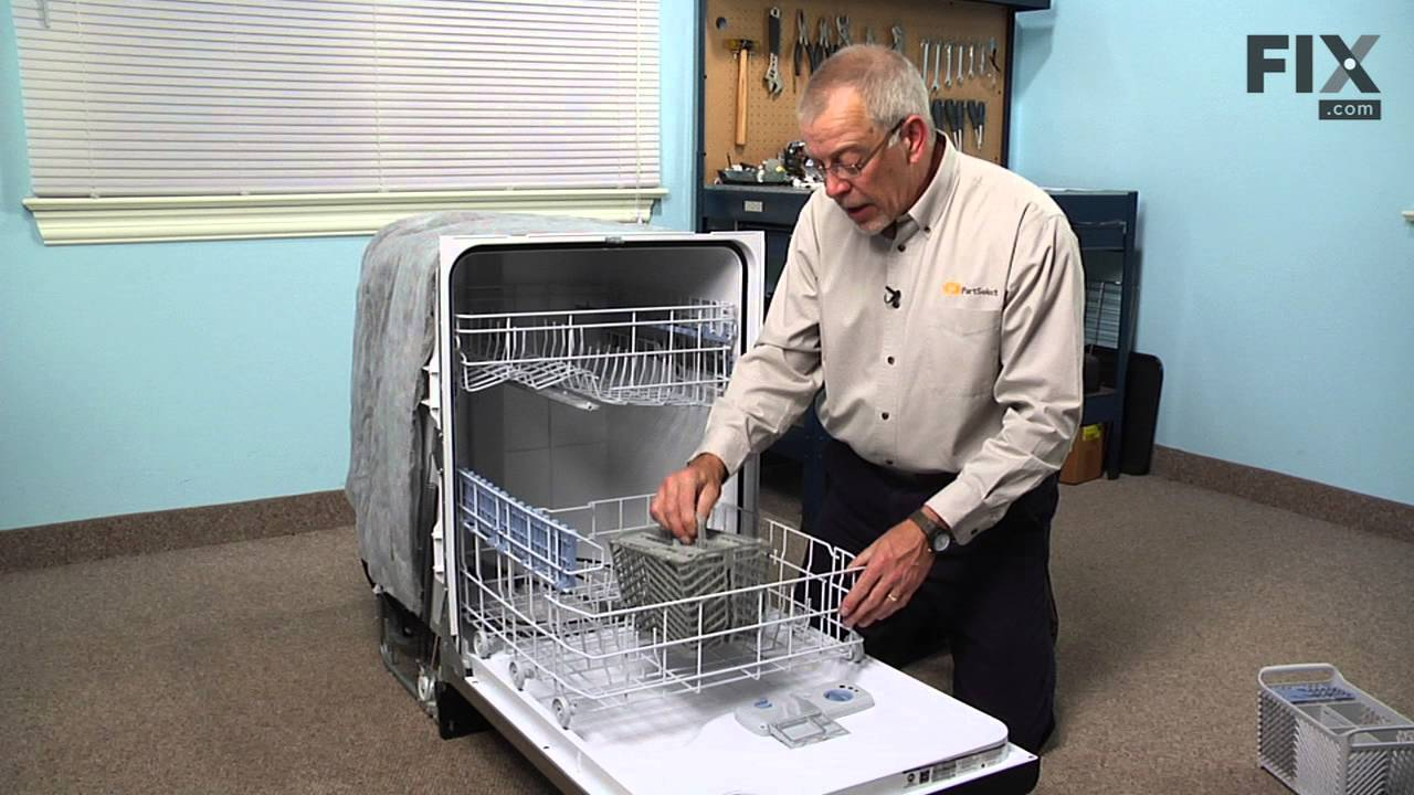 Maytag Dishwasher Repair How To Replace The Silverware Basket Split Fit