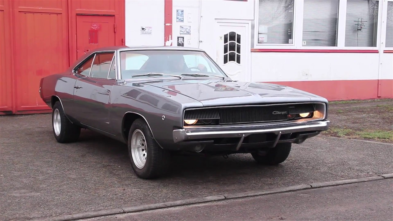 1968 Dodge Charger / V8 Big Block 440cui / Car for Sale - YouTube
