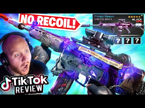 THIS KRIG 6 FROM TIKTOK HAS NO RECOIL! IT'S INSANE!! Ft. Nickmercs, Cloakzy & CouRageJD