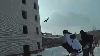 Нереальный прыжок с 5 этажа Mp4