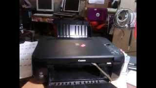 Canon MP 280 Криво печатает Что делать?(В этом видео рассказано как бороться с проблемой когда принтер криво печатает., 2013-09-24T18:40:31.000Z)