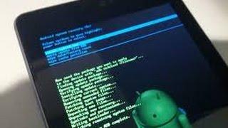 Como arreglar una tablet  que se queda en android