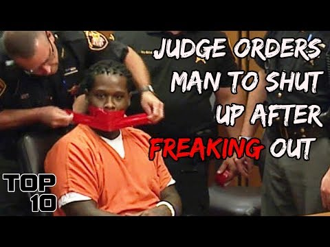 Top 10 Prison Inmates Freaking Out