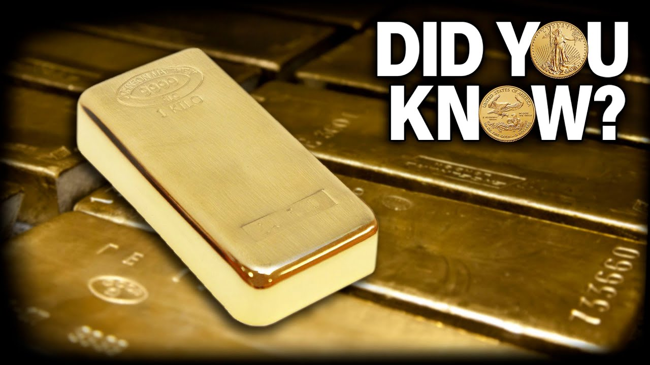 How Much Is A Gold Bar Worth Did You
