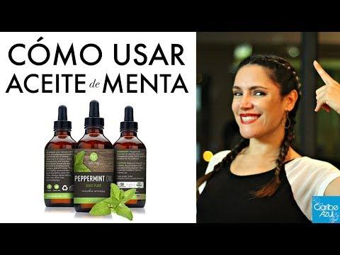 Dos recetas para aplicar el aceite de menta para RECUPERAR EL CABELLO y HACERLO CRECER / Caribe Azul