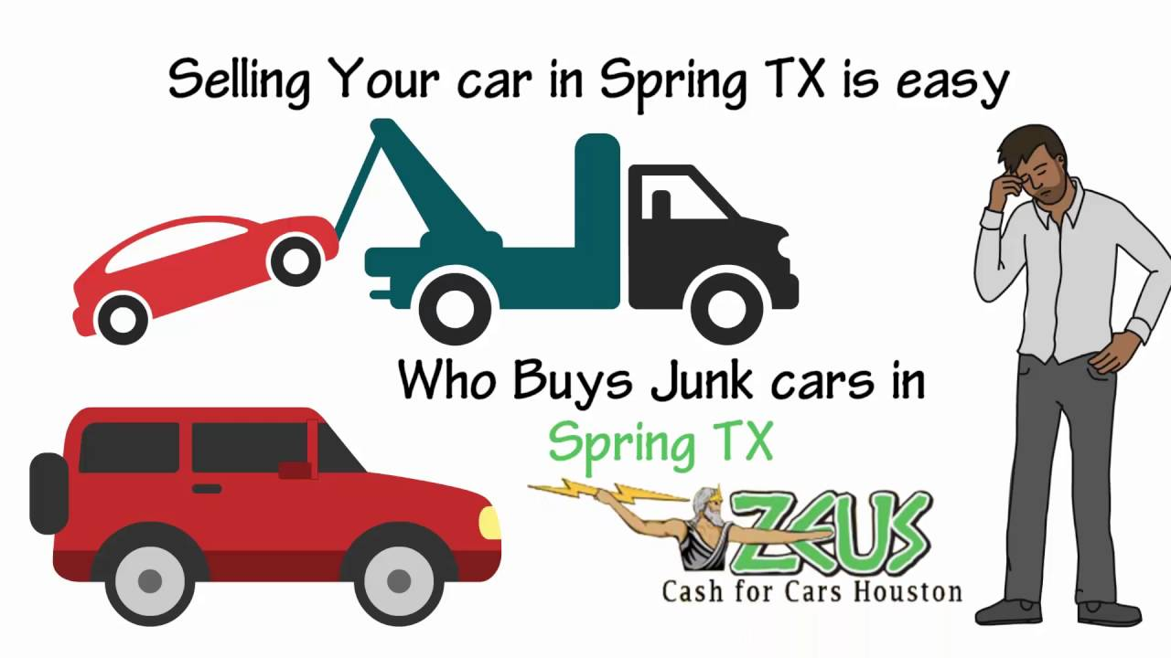How to Get Cash for Cars in Spring TX. Call 832 516 3533 - YouTube